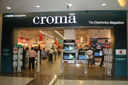 THe largest electronics sales store in India