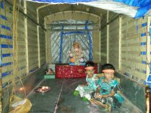 Ganpati in transit