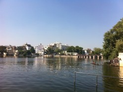 Udaipur is on a number of man-made lakes, and all of them provide beautiful views in the city.
