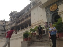 On our last day, we visited the old palace of Udaipur. It was massive!