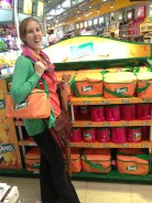 You know what I need in the Kuwait airport? A ridiculously large bag of Tang.