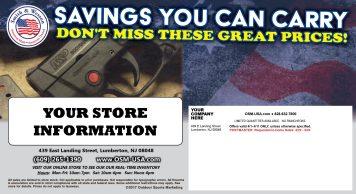 Direct Mail Postcard (back)