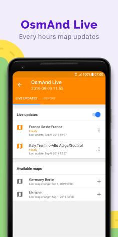 osmand offline mobile maps and navigation