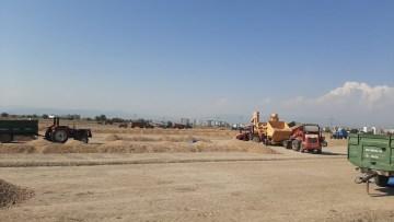 Osmaniye'de yer fıstığı hasadı buruk başladı