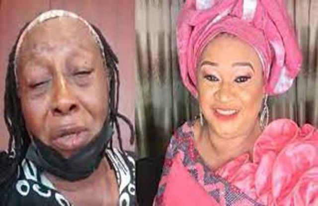 Patience Ozokwo breaks down in tears following the death of her friend and colleague Rachel Oniga