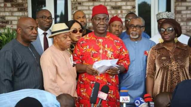 Sit-At-Home: South East Caucus of the National Assembly Meet in Abuja