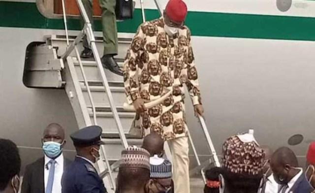 BREAKING: Pres. Buhari arrives Imo