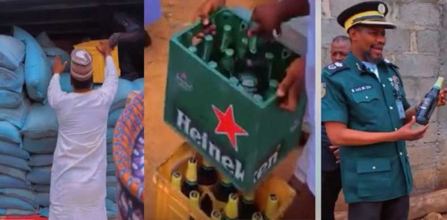 Hisbah Seize Truck Of 3,600 Crates Of Beer In Kano