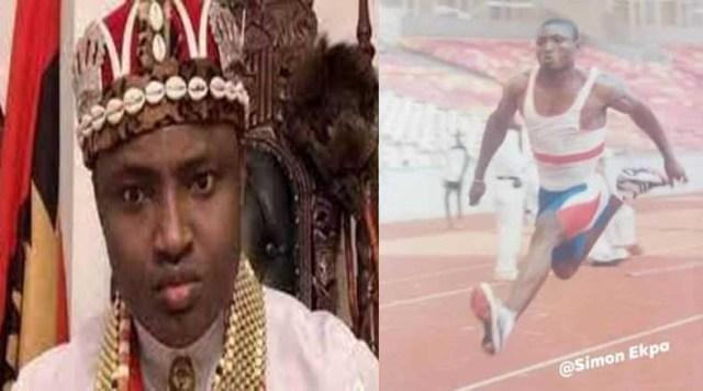 IPOB: Ex-Nigerian athlete Simon Ekpa to return medal, gives reasons