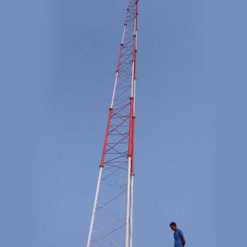 Man brought down from a mast after saying he'd jump if his family fails to get him a wife