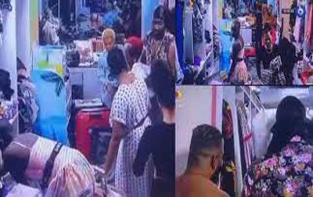 #BBNaija: Saskay fumes at Pere after over apology to WhiteMoney over missing towels