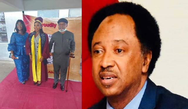 Shehu Sani mocks other leaders as he Praises Ngige for allowing his daughter study in Nigeria