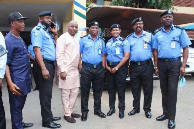 Lagos State NURTW Boss Paid Courtesy Visit To C.P. Odumosu.