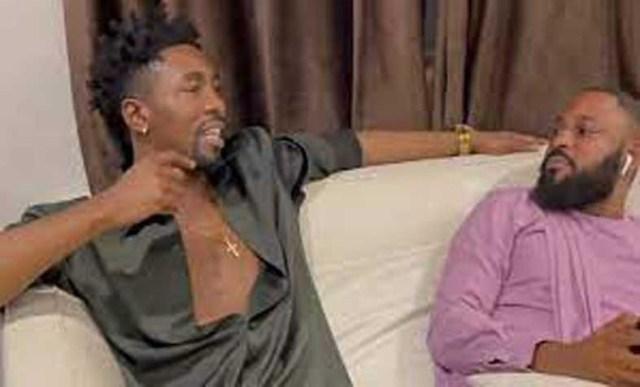 BBNaija Boma and Tega's husband Ajeboh, hang out (Video)