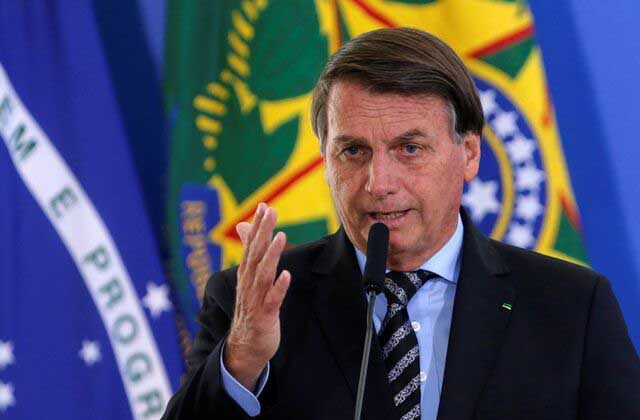 Brazilian President, Jair Bolsonaro refused entry to a soccer match in his country because he's not Vaccinated