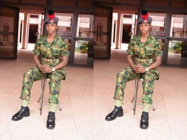 Igbo Lady Emerges Best Graduating Cadet