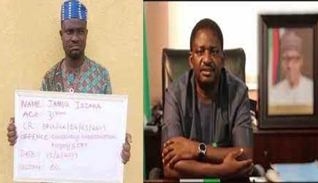 Impersonator of Buhari's aide sentenced to 28 years imprisonment