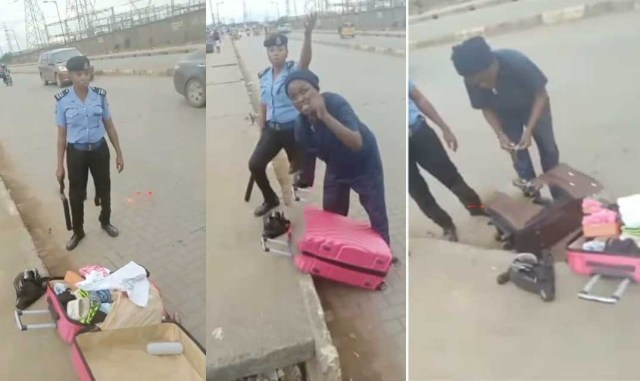 """Police officers har*ss LASU students after claiming they """"look like dr*g peddlers"""""""