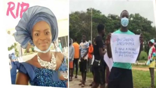 Protest rocks OAU after a final year student d*ed due to alleged medical negligence