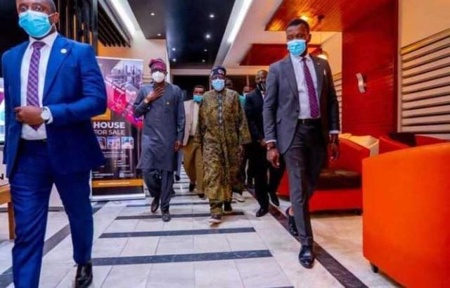 APC National leader, Bola Tinubu, arrives Nigeria from the UK