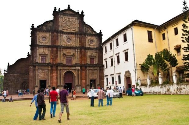 Basílica do Bom Jesus, um exemplo das antigas igrejas deixadas