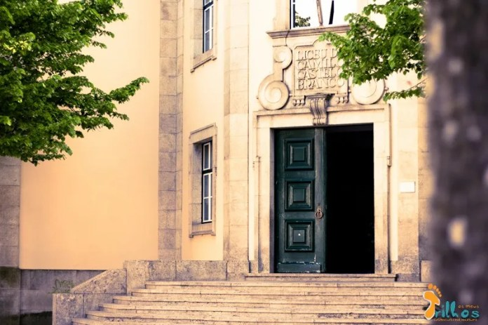 Liceu Camilo Castelo Branco, em Vila Real