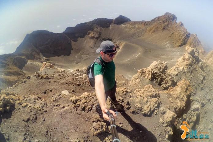 Subida Vulcão Fogo Cabo Verde. Os Meus Trilhos