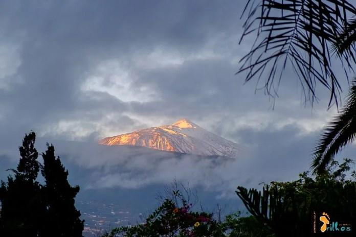 Tenerife.Teideinthe MorningOsMeusTrilhos