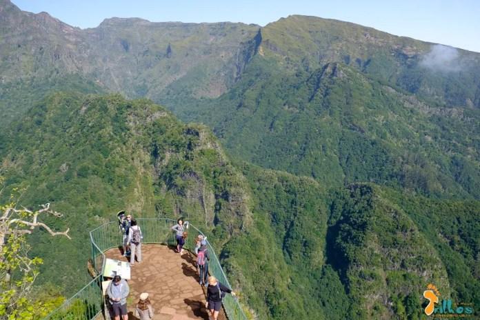 Miradouro dos Balcões - Levadas da Madeira