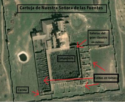 """La cartuja de monegros en la """"Lista Roja"""""""