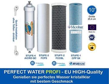 Retec Osmoseanlage direct flow ohne Tank, Osmoseanlage 600 GPD Ultimate PLUS PRO PROFI EDITION