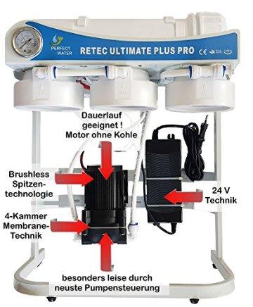 Osmoseanlage 600 GPD Ultimate PLUS PRO PROFI EDITION 2018 direct flow kein Tank nötig Umkehrosmosewasserfilter Wasserfilter Trinkwasser Umkehrosmose Reverse Osmosis - 4