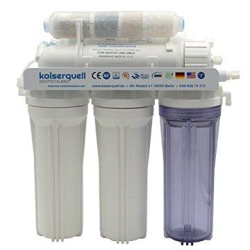 kaiserquell Premium Umkehrosmoseanlage aus Deutscher Manufaktur 6 stufig BAKTERIEN PESTIZIDE und NITRAT aus Leitungswasser Wasserfilteranlage Osmoseanlage - 3