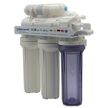 kaiserquell Premium Umkehrosmoseanlage aus Deutscher Manufaktur 6 stufig BAKTERIEN PESTIZIDE und NITRAT aus Leitungswasser Wasserfilteranlage Osmoseanlage - 4