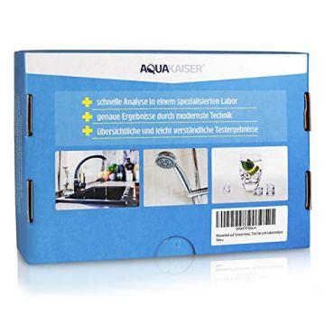 Aquakaiser Wasser Test auf Schwermetalle - Wassertest auf Blei, Kupfer, Eisen und andere metallische Leitungsmaterialien - 7