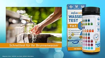 aquaself 9-in-1 Wassertest - 100 Stück Trinkwasser Teststreifen zur Überprüfung der Wasserqualität - inkl. gratis E-Book - 5