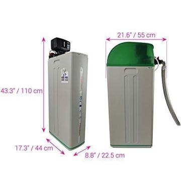 Meter Wasserenthärter AS800 von Water2Buy   Hartwasseraufbereitungssystem   Ultra-leises automatisches Gerät zur 100% igen Beseitigung von Kalkablagerungen   Entwickelt für alle Salzarten - 8