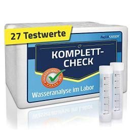 Aquakaiser Wassertest – Komplett-Test auf die gängigsten Schwermetalle, Bakterien, Mineralstoffe, Wasserhärte. – inkl. Test-Set und Laboranalyse - 1