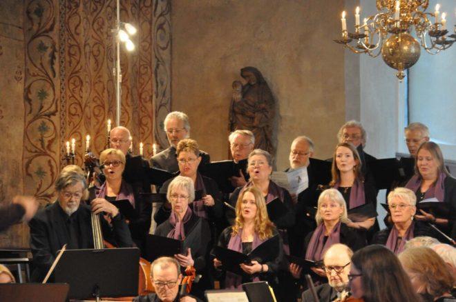 Kyrkokörens konsert