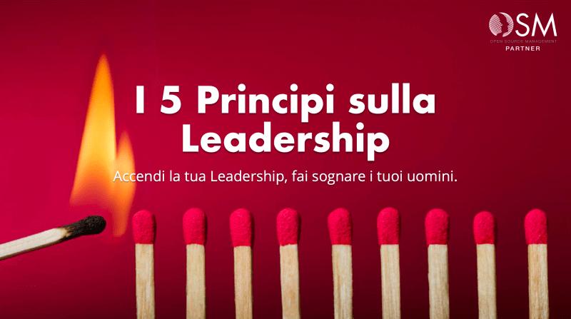 I 5 principi della Leadership 1