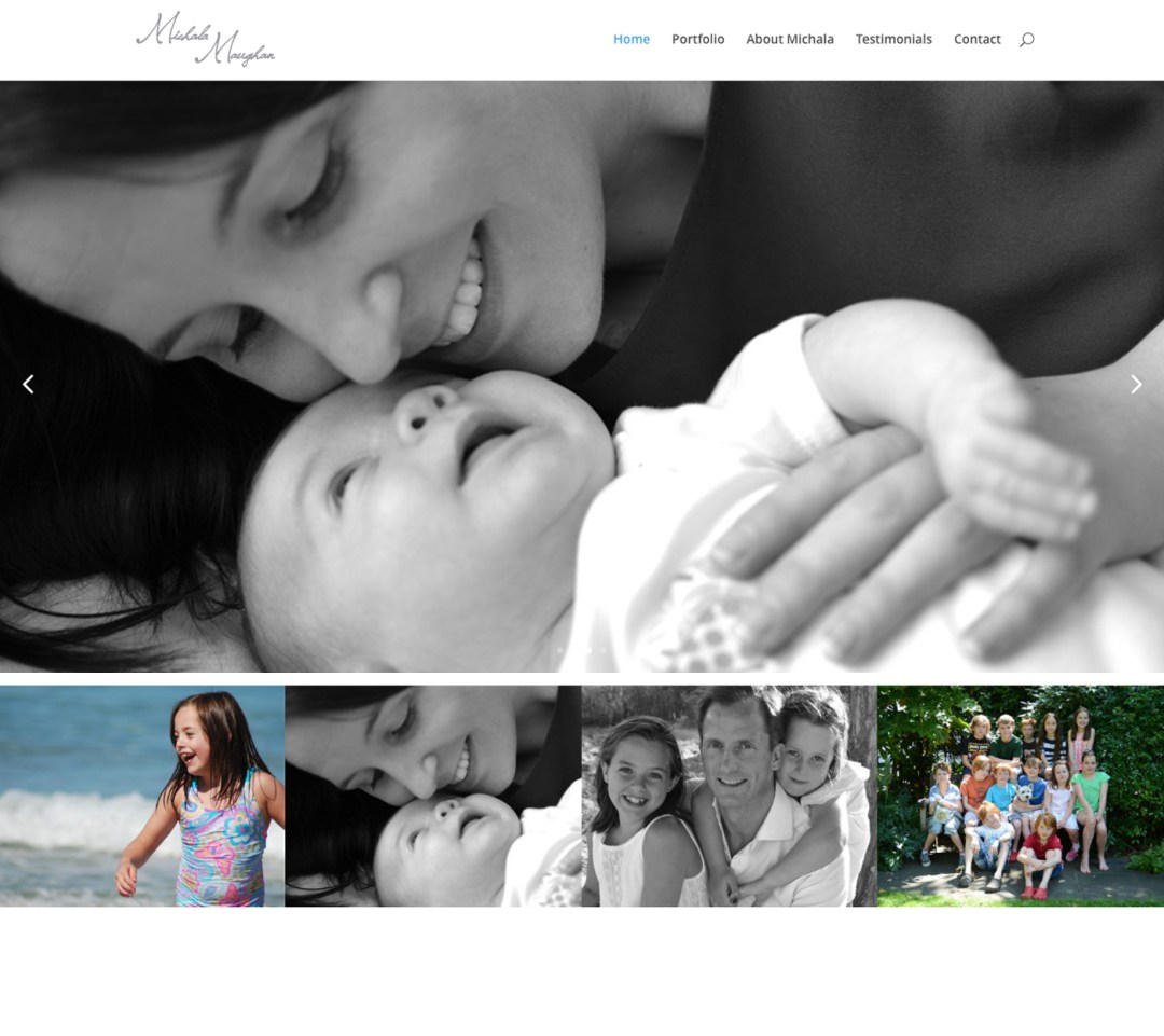 maughan photo website home page