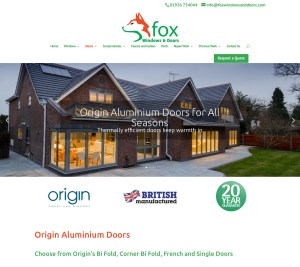 fox windows and doors website origin doors page