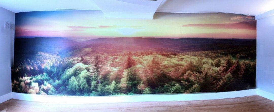 Infinity Beauty Salon Interior Wall