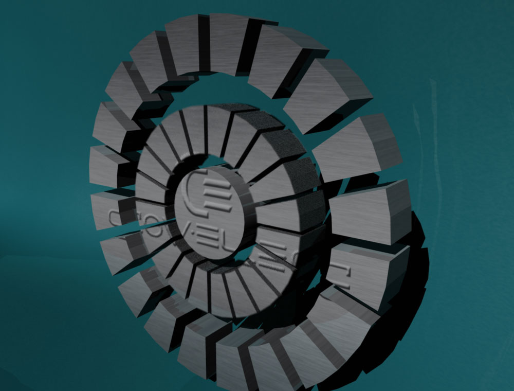 3D logo for engineering company