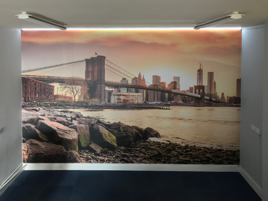 Oso Creative office wall print