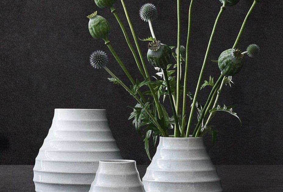 The Morsø BARK vase