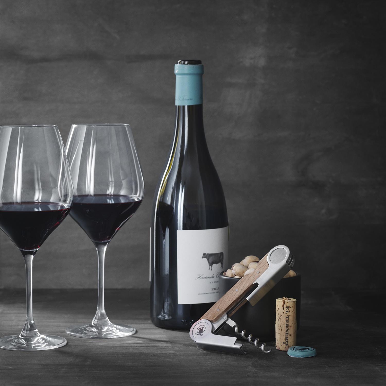 Morso Wine Opener with bottle