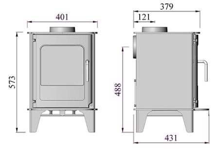 morso O4 dimensions