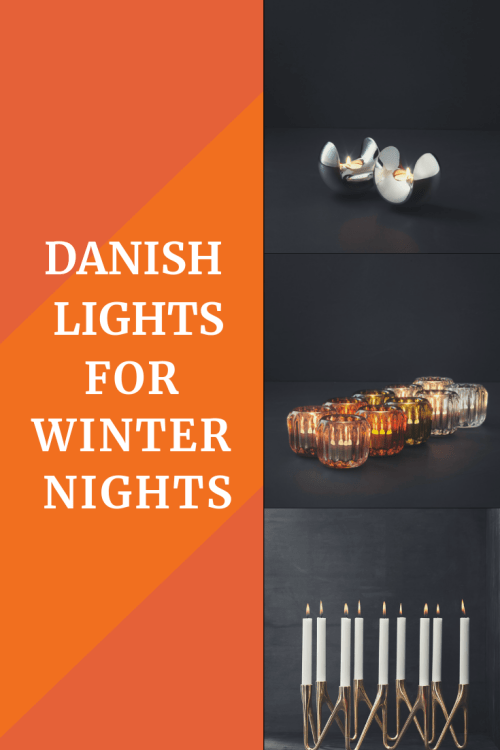 danish lights for winter nights - Four contemporary danish designs for candle and bio-ethanol lamps that will last the test of time