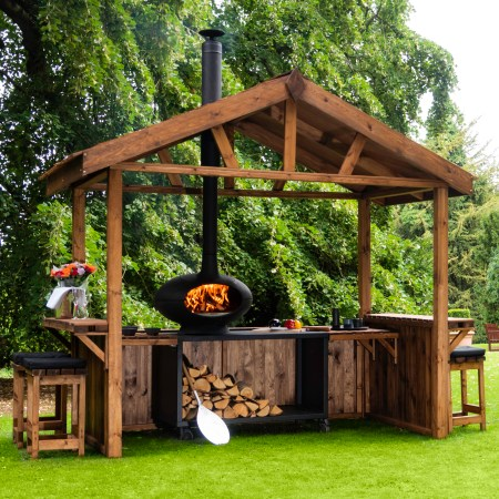 forno outdoor cooking hut